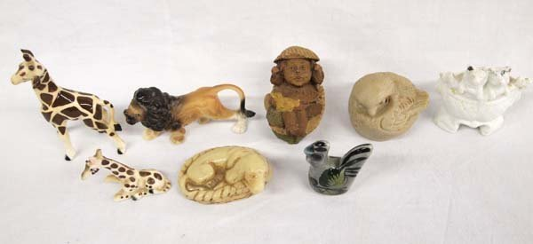 Collection of 1950-1960 Miniature Animals