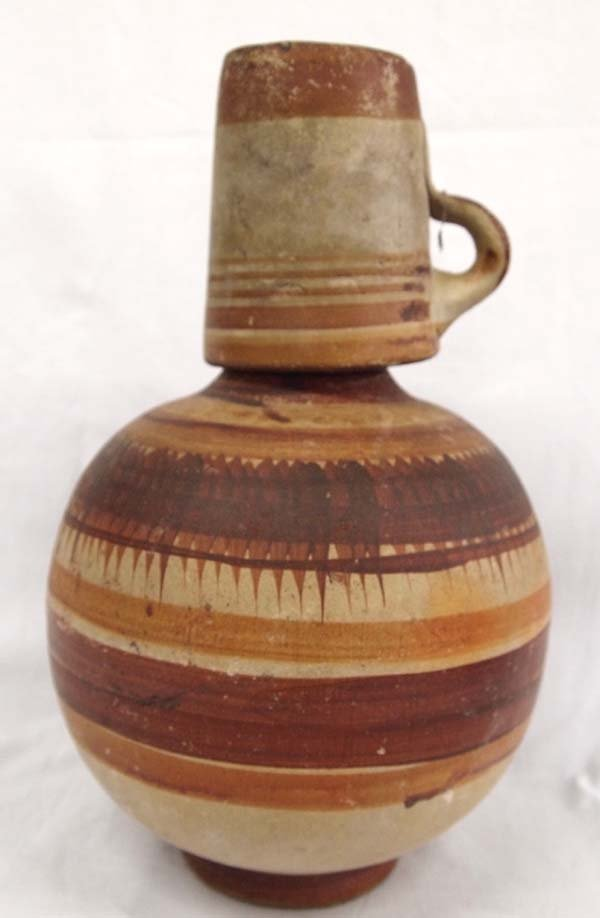 Mexican Pottery Water Jug and Cup