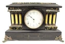 Antique 1880 Seth Thomas Admantine Mantle Clock