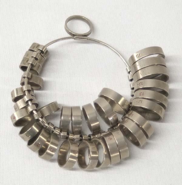 Professional Jewelers Ring Sizer 30+ Pc Set Metal