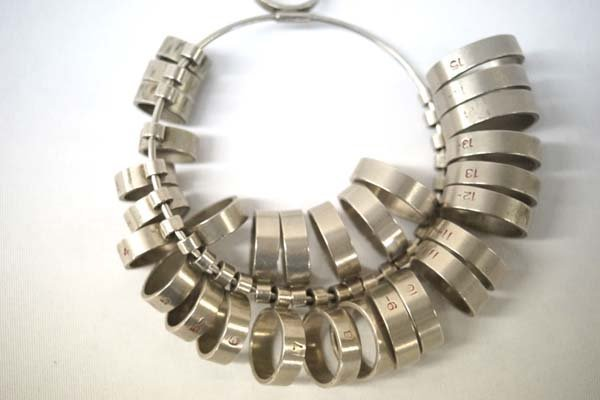 Professional Jewelers Ring Sizer 30+ Pc Set Metal - 2