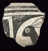 Prehistoric Classic Mimbres Rabbit Pottery Sherd