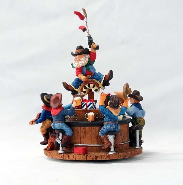 Here Comes Santa Claus Music Box