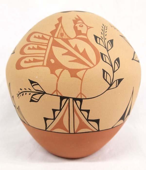 Native American Jemez Polychrome Seed Jar by Tosa