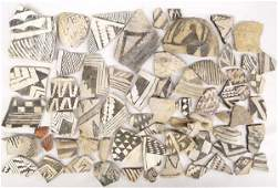 Collection of Prehistoric Anasazi Pottery Sherds