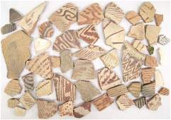 Prehistoric Native American Hohokam Pottery Sherds