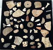 Prehistoric Mimbres Stone Arrowheads and Findings