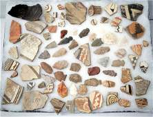 Prehistoric Mimbres Pottery Sherds and Arrowheads