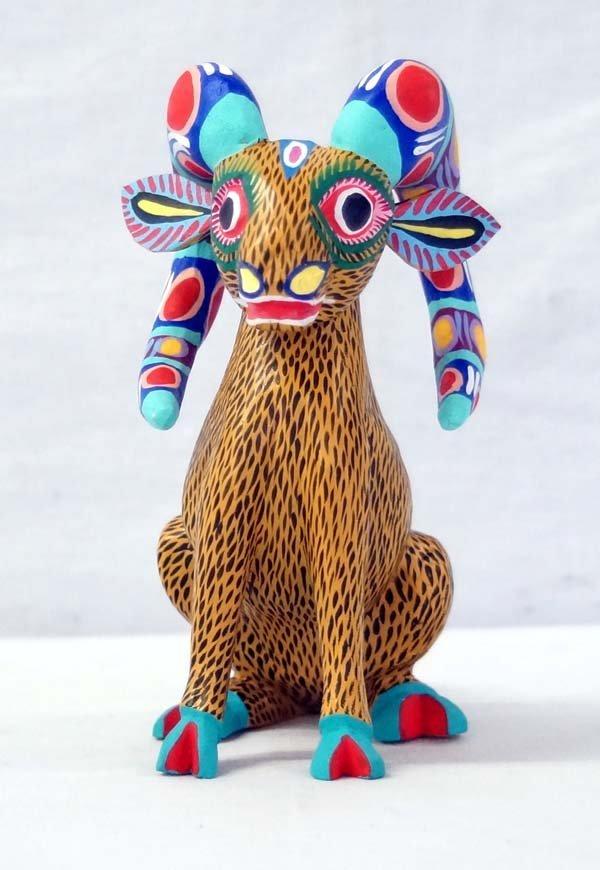 Mexican Oaxacan Ram Alebrije, Crecencio Carrillo
