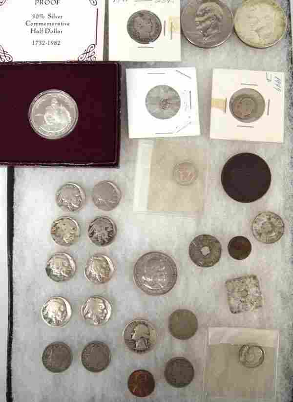 Collection of Misc. American Coins and Tokens