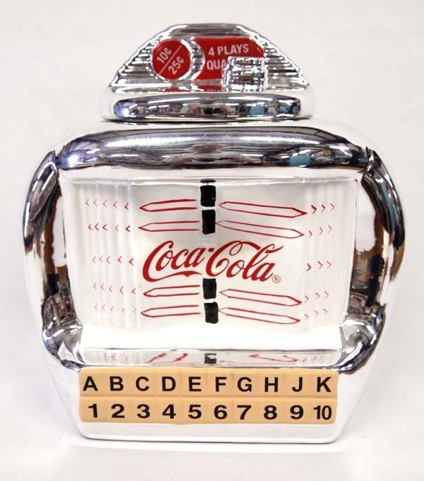 2000 Coca-Cola Juke Box Cookie Jar