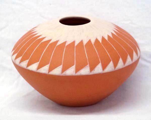 2009 San Felipe Pottery Jar, Signed by Artist