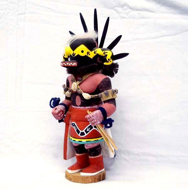 Vintage Hopi Si-Du-Nu-Nu Kachina by Vincent Selina