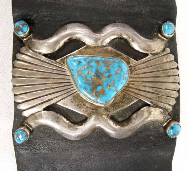 1930-1940 Estate Navajo Old Pawn Silver Ketoh