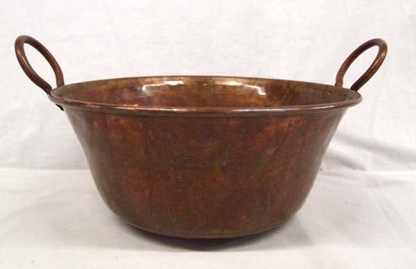 Nice Handled Copper Pot