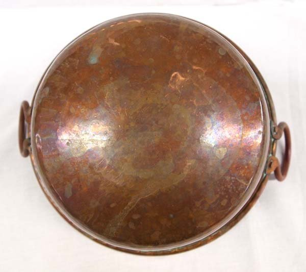 Nice Handled Copper Pot - 3
