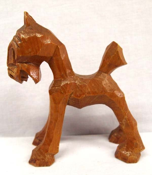 Appalachian Carved Wooden Horse