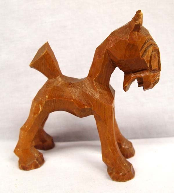 Appalachian Carved Wooden Horse - 2