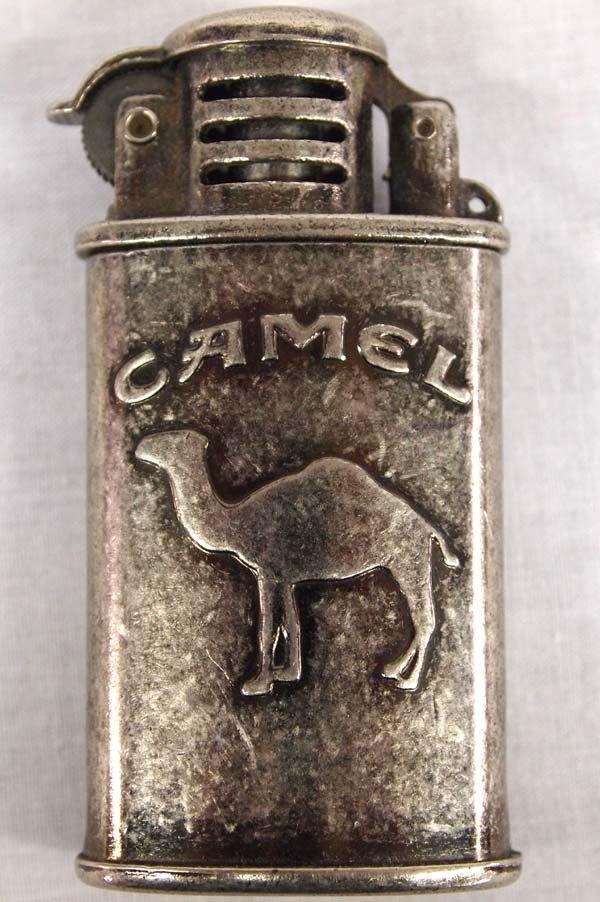 1945 Vintage Camel Steel Trench Lighter