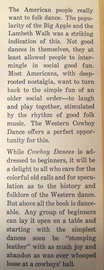 Cowboy Dances by Lloyd Shaw, Hardback Book - 3