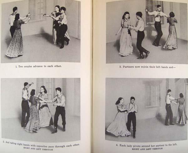 Cowboy Dances by Lloyd Shaw, Hardback Book - 4