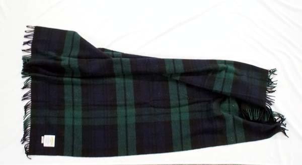 James Pringle Weavers Scottish Wool Blanket