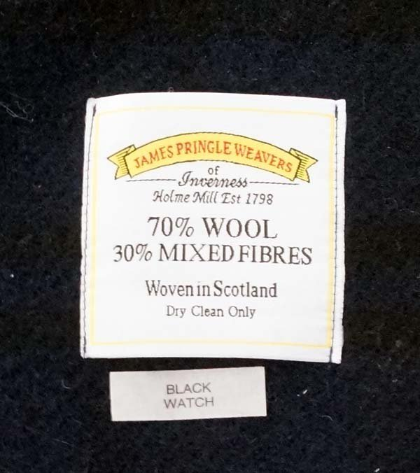 James Pringle Weavers Scottish Wool Blanket - 2