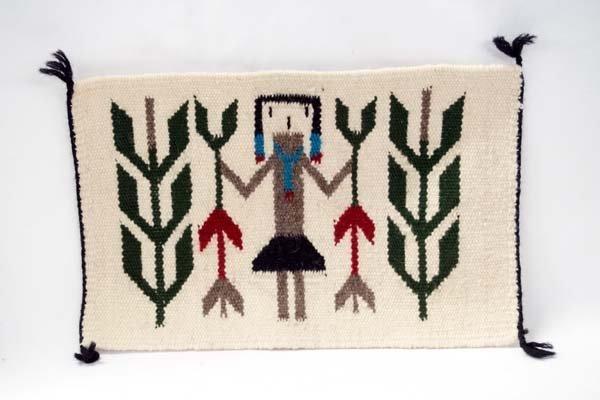 Navajo Yei Sampler Rug by Ruth Etcitty