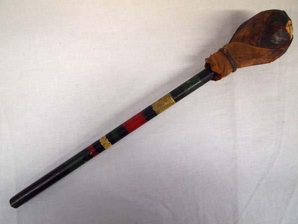 Large Native America Pueblo Drum Stick