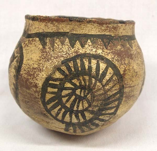 Southwestern Pottery Jar, Bird Motif - 2