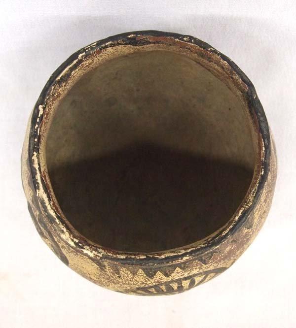 Southwestern Pottery Jar, Bird Motif - 3
