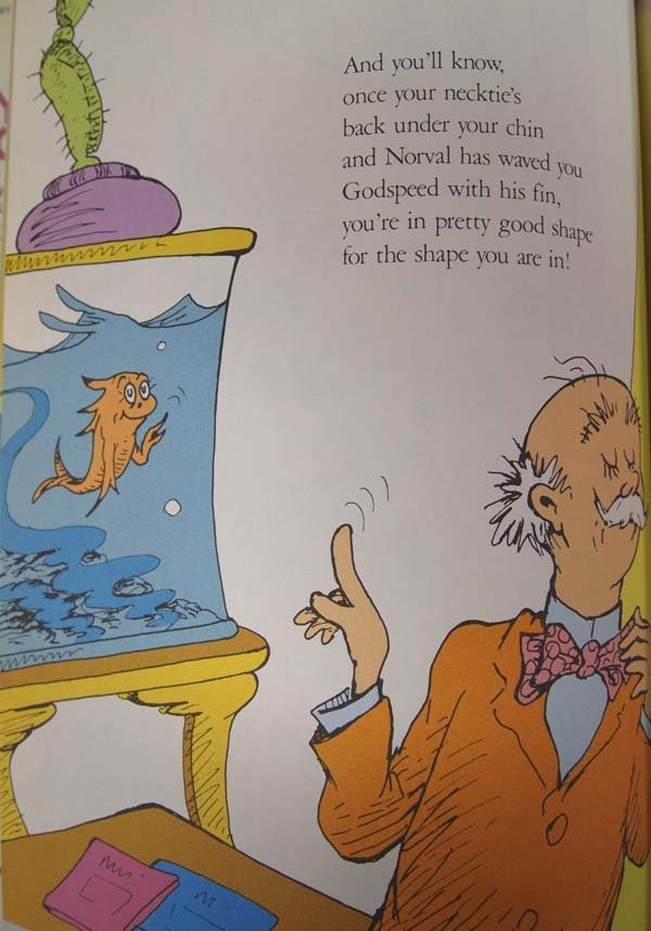 You're Only Old Once! by Dr. Seuss, Hardback Book - 4