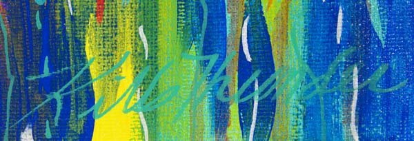 Original Acrylic Painting by Kathy Kills Thunder - 2