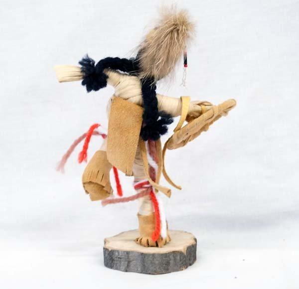 Iroquois Corn Husk Dancer Doll - 3