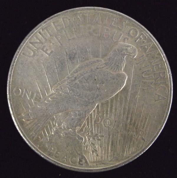 1922 Peace Silver Dollar - 2