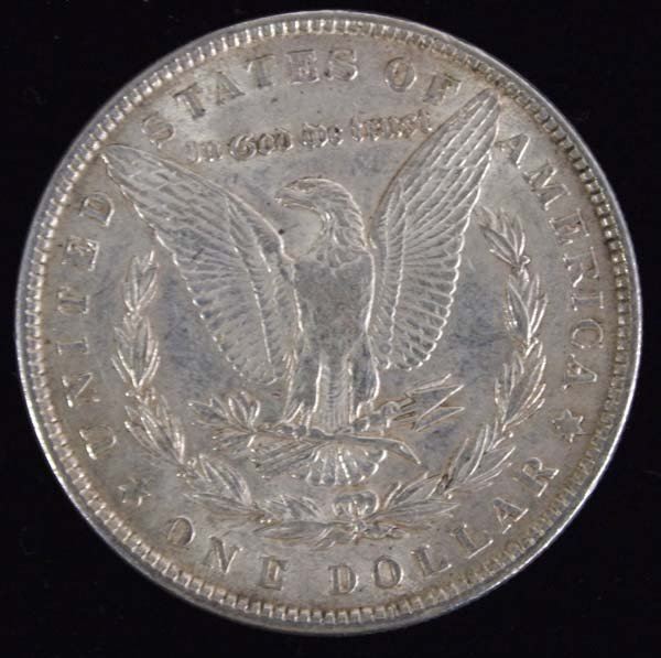 1881 Morgan Silver Dollar - 2