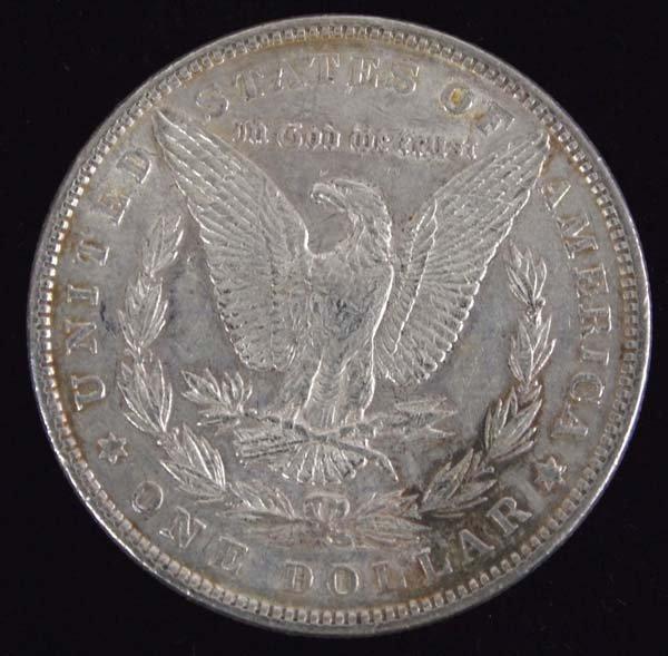 1885 Morgan Silver Dollar - 2