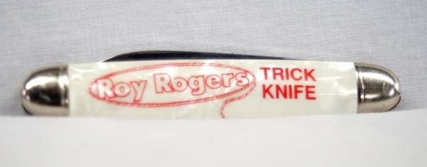 Vintage Roy Rogers Trick Knife