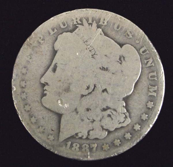 1887-O Morgan Silver Dollar