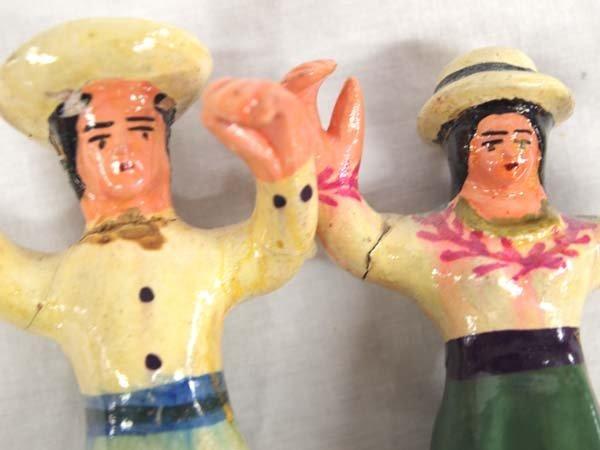 Peruvian Clay El Baile de las Cintas (Ribbon Dance) - 5