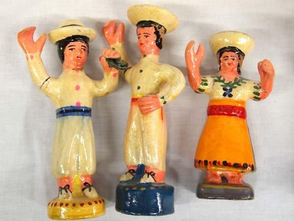 Peruvian Clay El Baile de las Cintas (Ribbon Dance) - 7