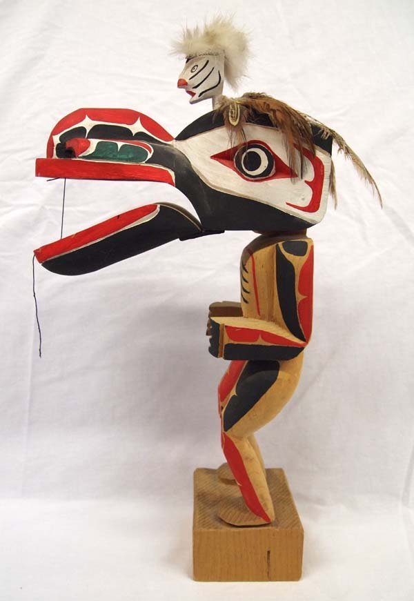 1970 Northwest Coast Haida Dance Mask Figure