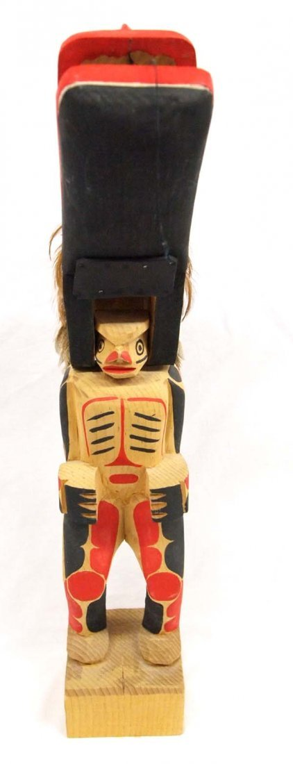 1970 Northwest Coast Haida Dance Mask Figure - 3