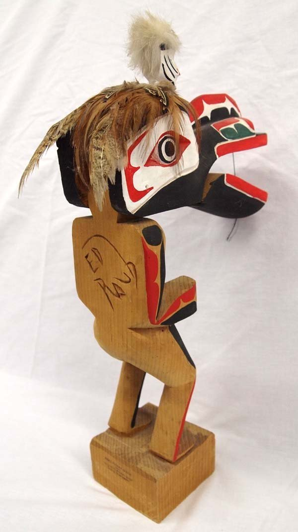 1970 Northwest Coast Haida Dance Mask Figure - 5
