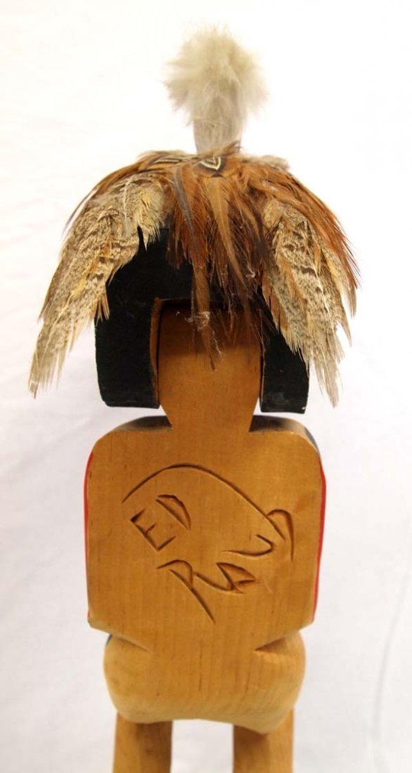 1970 Northwest Coast Haida Dance Mask Figure - 6