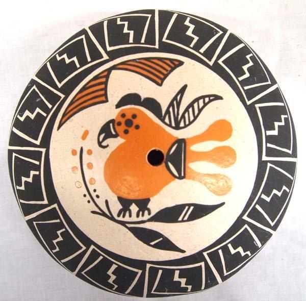 Native American Acoma Seed Jar by Yolanda Trujillo