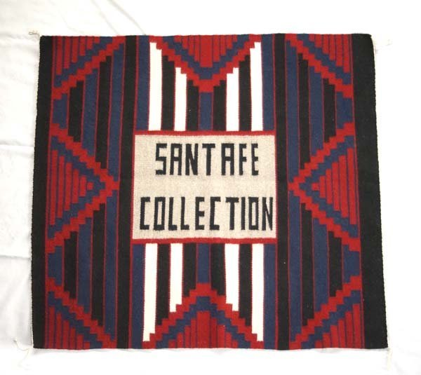 Navajo Chiefs Blanket Textile Rug, Santa Fe Collection
