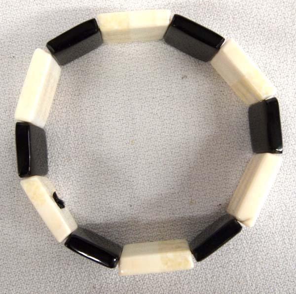 Northwest Coast Ivory and Baleen Bracelet - 2
