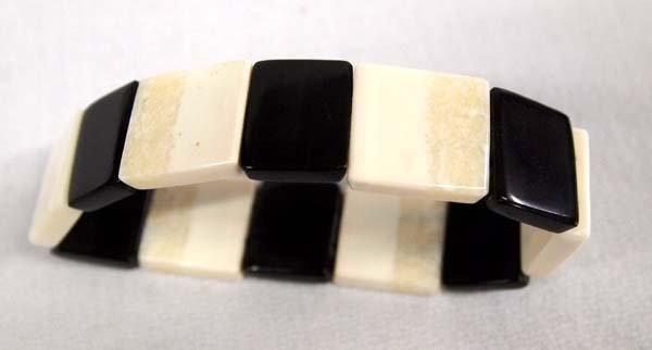 Northwest Coast Ivory and Baleen Bracelet - 3