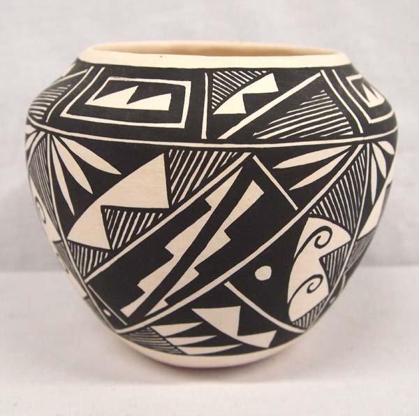 Acoma Fine Line Pottery Jar by Vallo